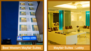 A Best Western Mayfair Suites Bangkok